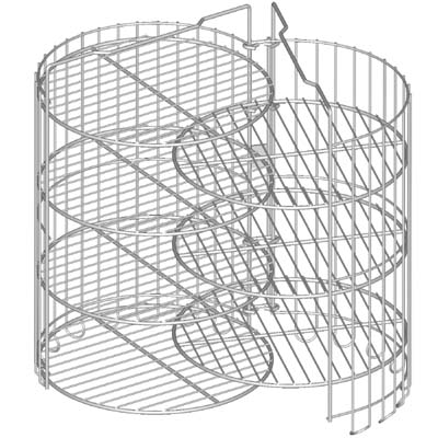 Wire Clam Shell Basket Frying