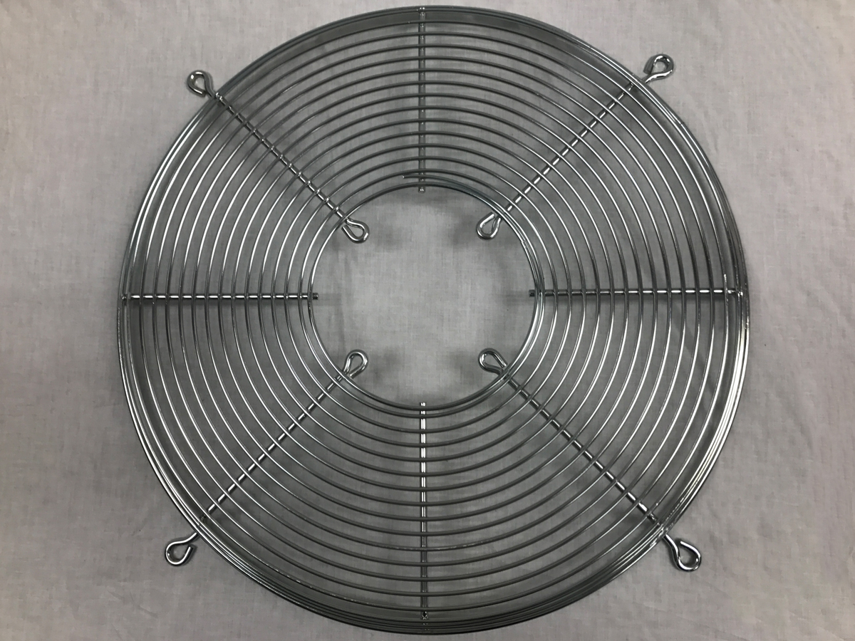 Wire Fan Guard Back