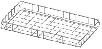 Wire Food Service Basket